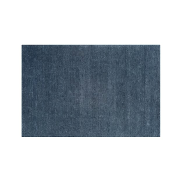 Baxter Blue Wool 6'x9' Rug