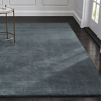 Baxter Blue Wool Rug