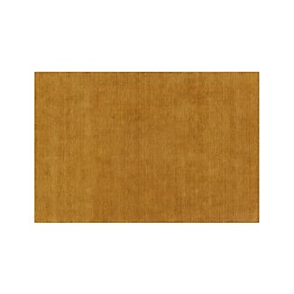 Baxter Gold Yellow Wool 8'x10' Rug