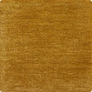 "Baxter Gold Yellow Wool 12"" sq. Rug Swatch"