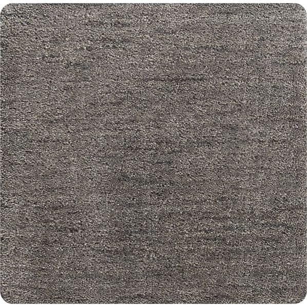 """Baxter Grey Wool 12"""" sq. Rug Swatch"""