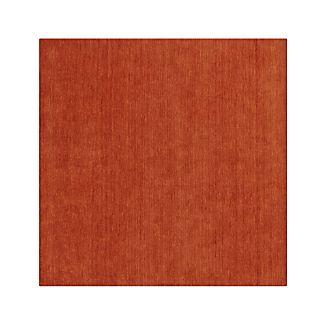 Baxter Marigold Orange Wool 8' sq. Rug