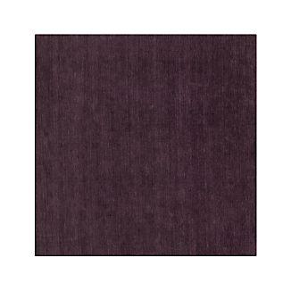 Baxter Plum Purple Wool 8' sq. Rug