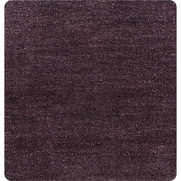 "Baxter Plum Purple Wool 12"" sq. Rug Swatch"