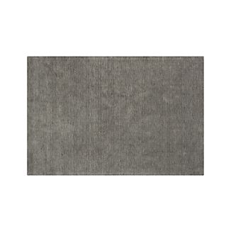 Baxter Grey Wool 6'x9' Rug