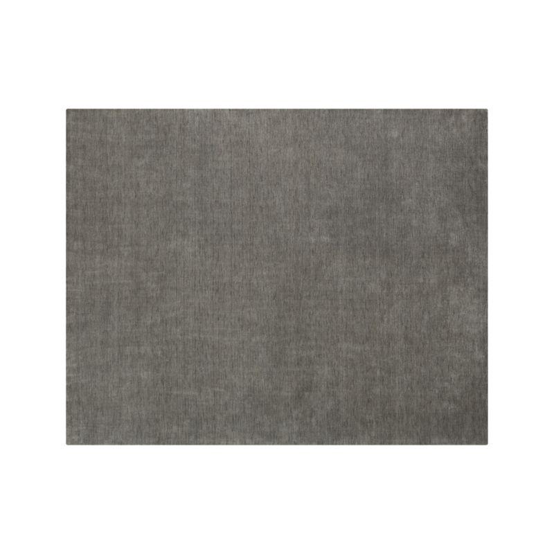 Baxter Grey Wool 8 X10 Rug Crate And Barrel