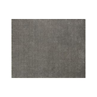 Baxter Grey Wool 8'x10' Rug
