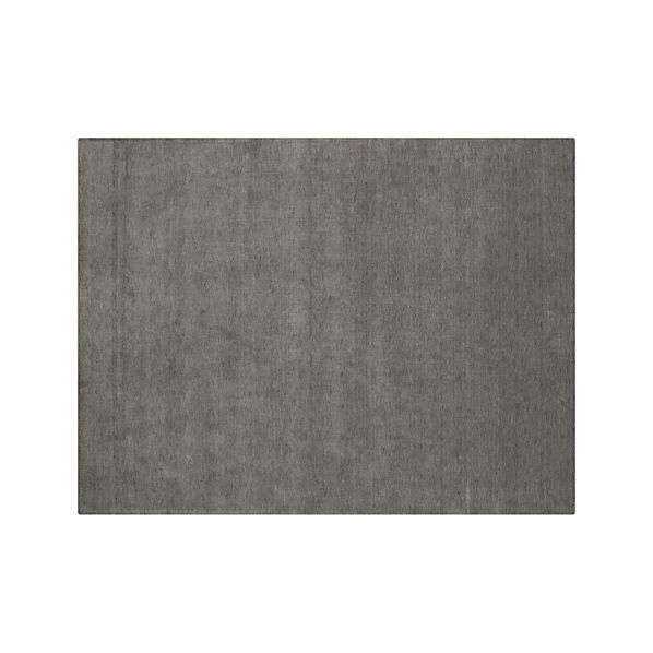 Baxter Grey Wool 10'x14' Rug