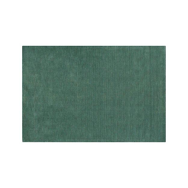 Baxter Jade Green Wool 5'x8' Rug