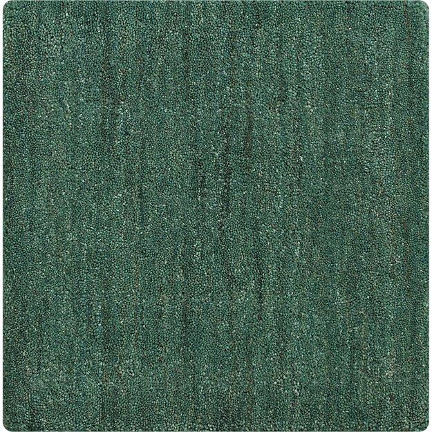 "Baxter Jade Green Wool 12"" sq. Rug Swatch"