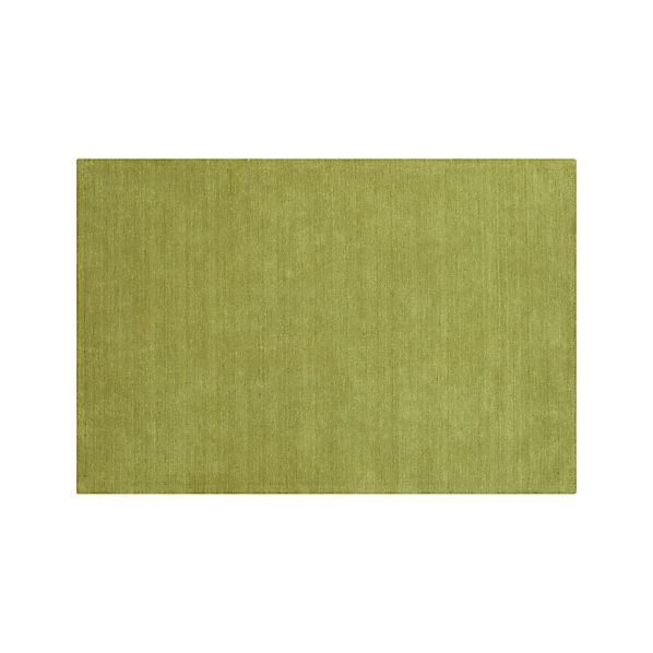 Baxter Lemongrass Green Wool 8'x10' Rug