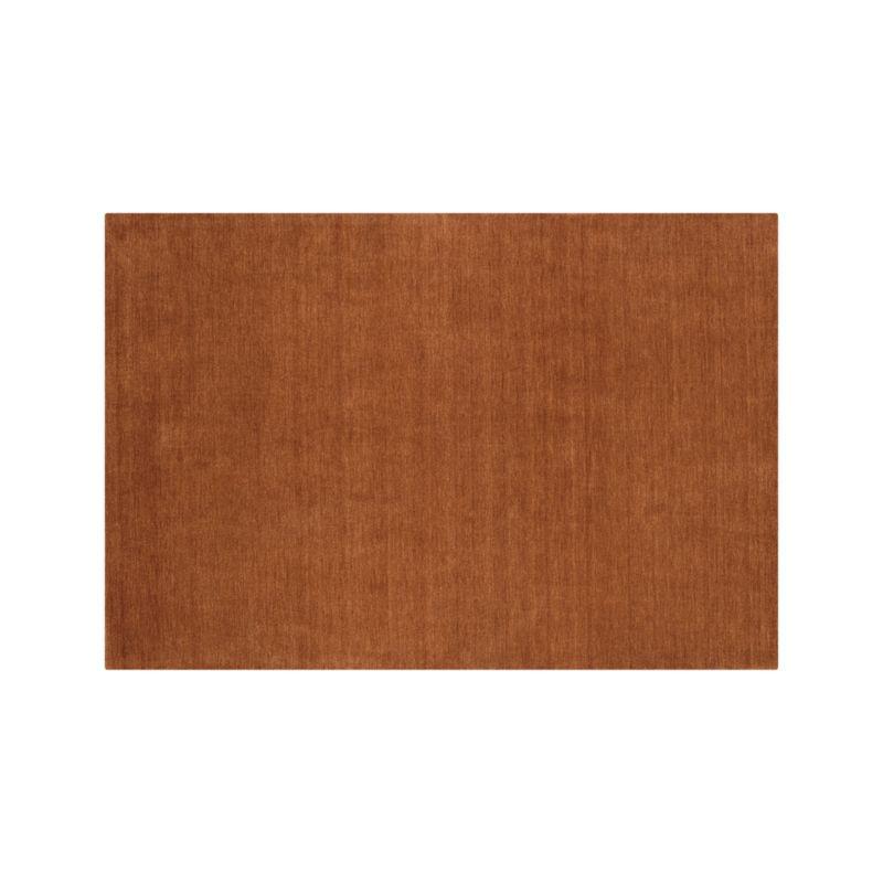 Baxter Marigold Orange Wool 6'x9' Rug
