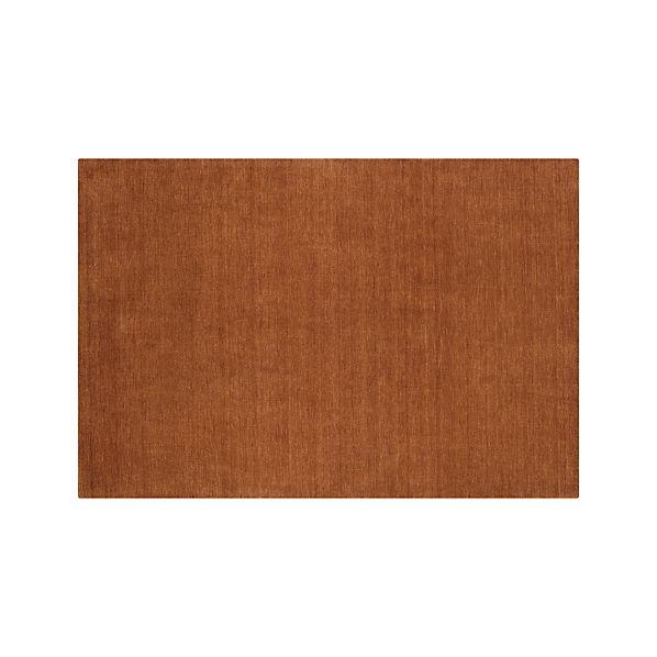 Baxter Marigold Orange Wool 5'x8' Rug