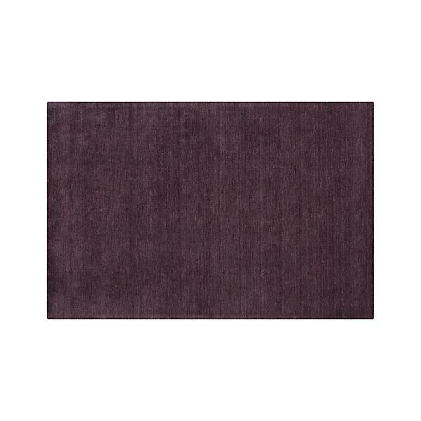 Baxter Plum Purple Wool 6 X9 Rug