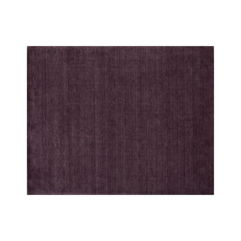 Baxter Plum Purple Wool 8'x10' Rug