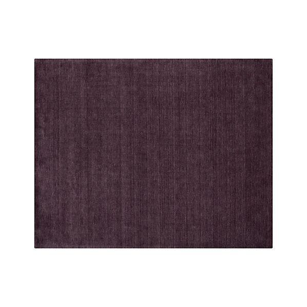 Baxter Plum Purple Wool 8 X10 Rug