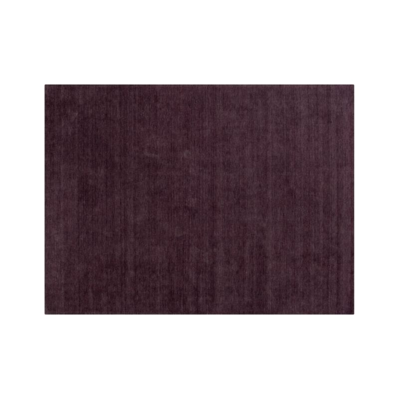 Baxter Plum Purple Wool 10'x14' Rug