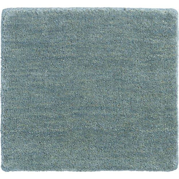 """Baxter Seafoam Wool 12"""" sq. Rug Swatch"""