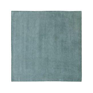 Baxter Seafoam Wool 8' Square Rug