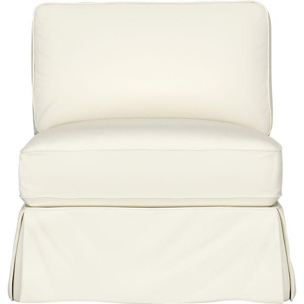 Bayside Armless Sectional Chair