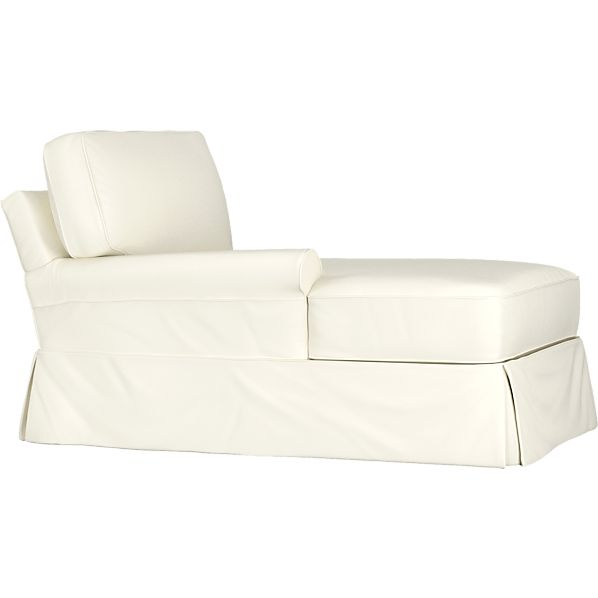 Slipcover for Bayside Left Arm Sectional Chaise