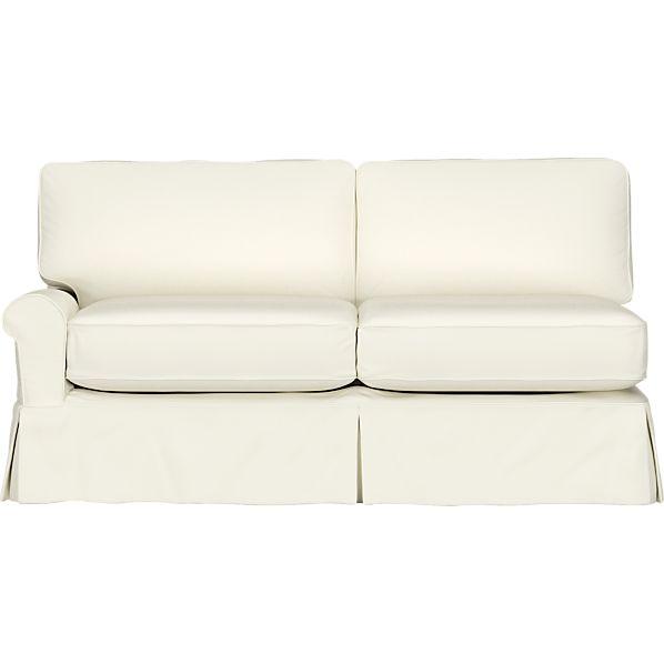 Slipcover for Bayside Left Arm Full Sleeper Sectional Sofa
