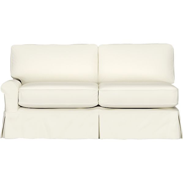 Slipcover for Bayside Left Arm Full Sleeper Sectional Sofa