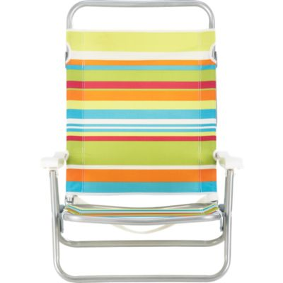 Beach Stripe 3-Position Sand Chair