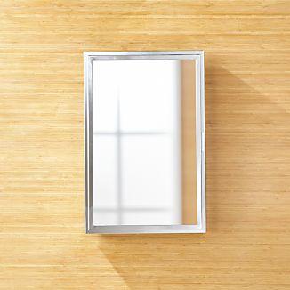 Beau Small Chrome Medicine Cabinet
