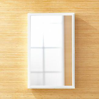 Beau Large White Medicine Cabinet