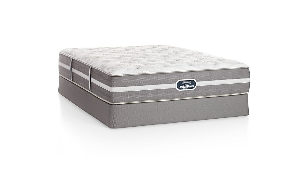 Simmons Queen Beautyrest Luxury Firm Mattress Crate And Barrel