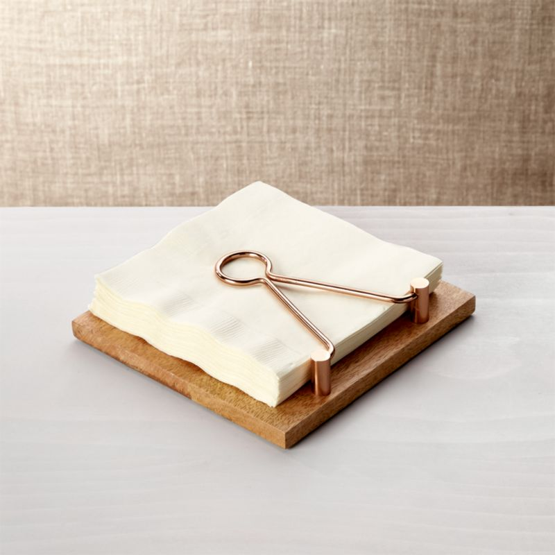Beck Napkin Holder Crate And Barrel