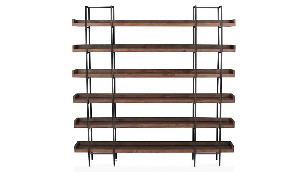 crate and barrel bookcase 2