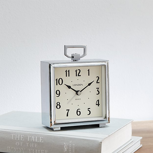 Bedside Alarm Clock | Crate and Barrel