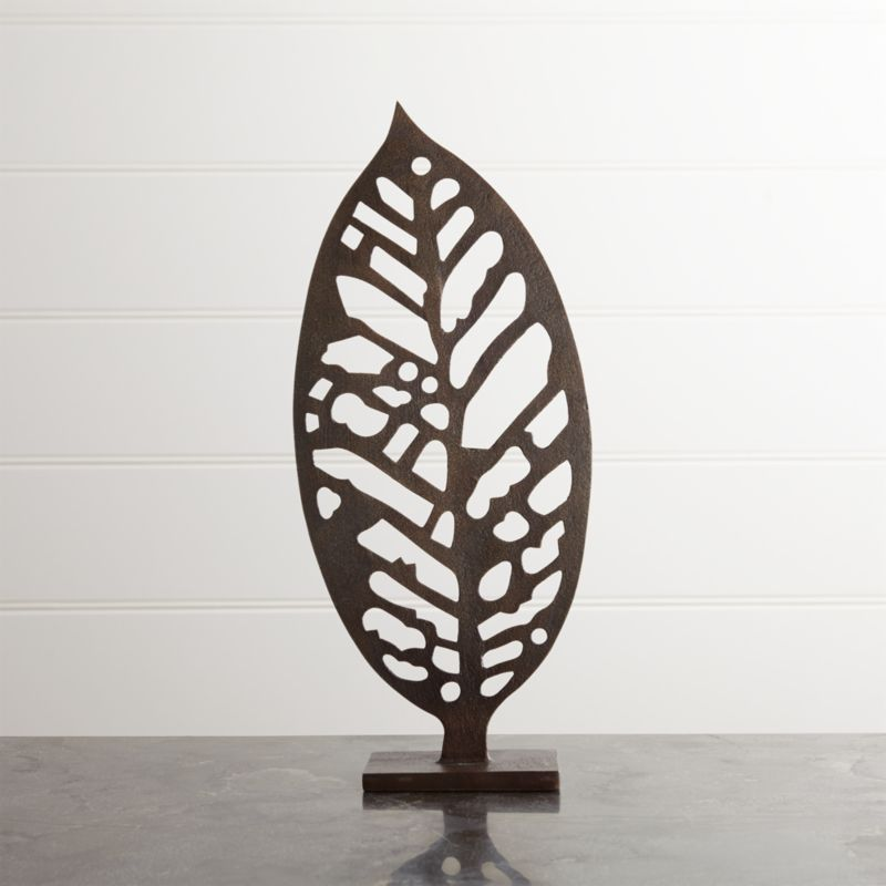 Beech Leaf On Stand