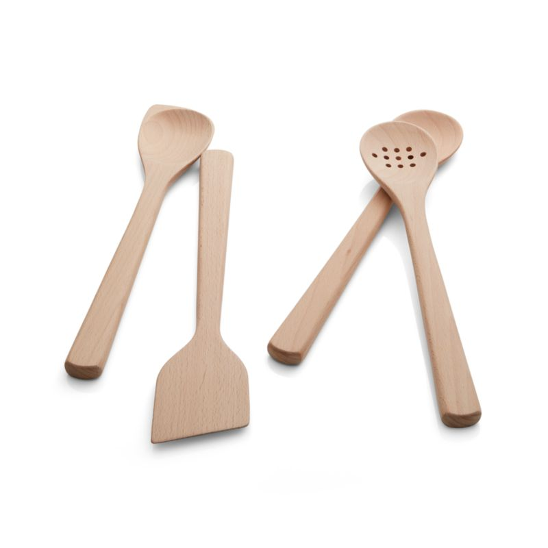 Beechwood Utensils Set of Four