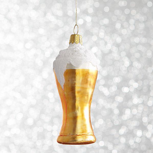 Pilsner Beer Ornament
