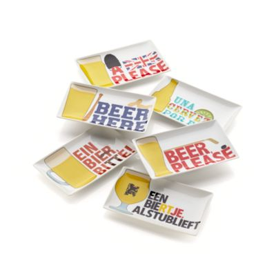 Set of 6 Beer Sampler Plates