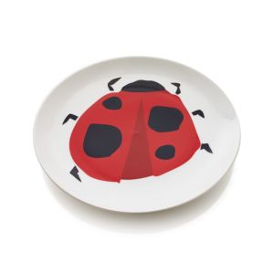 Lady Bug Beetle Plate