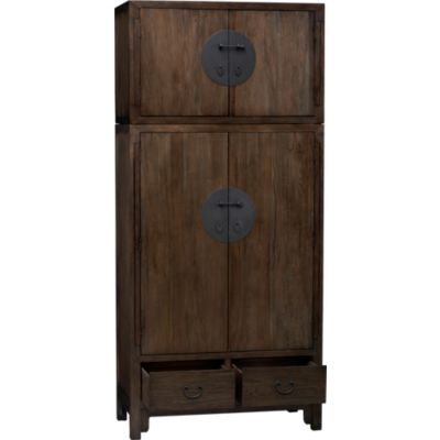 Beijing Armoire with Top