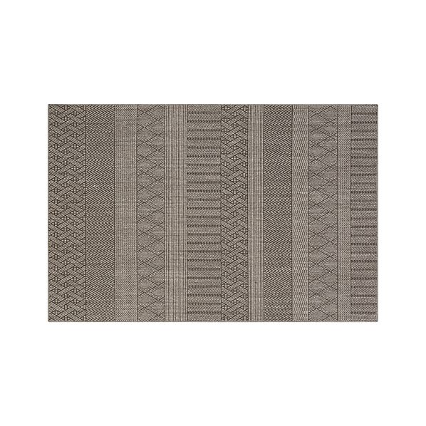 Belize Graphite 6'x9' Rug