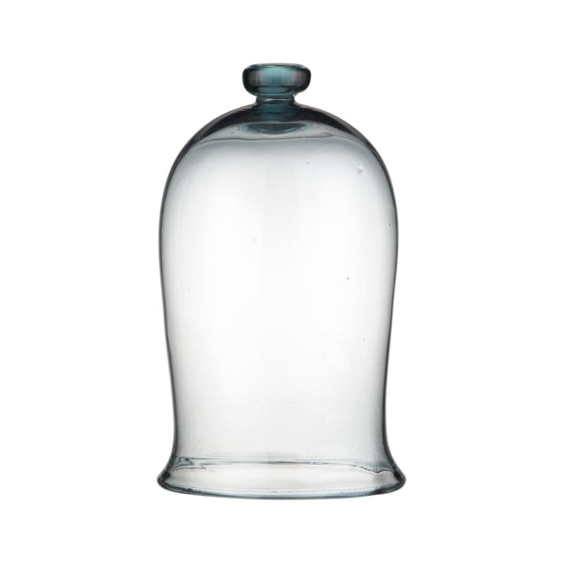 Protect plants in style with this recycled glass bell jar, a handy and attractive way to ward of cold, frost, wind and rain and to grow plants indoors. Also suitable for use as a food cover.<br /><br /><NEWTAG/><ul><li>100% recycled glass jar</li><li>Hand wash</li><li>For indoor or outdoor use</li></ul>