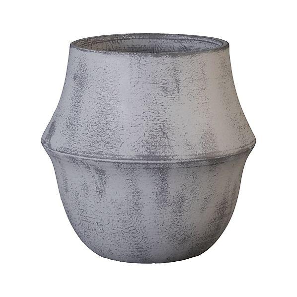 Bell Grey Pot