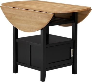 Wooden Dining Table - Belmont High Dining Table from Crate&Barrel