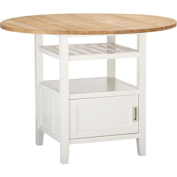 Belmont White High Dining Table