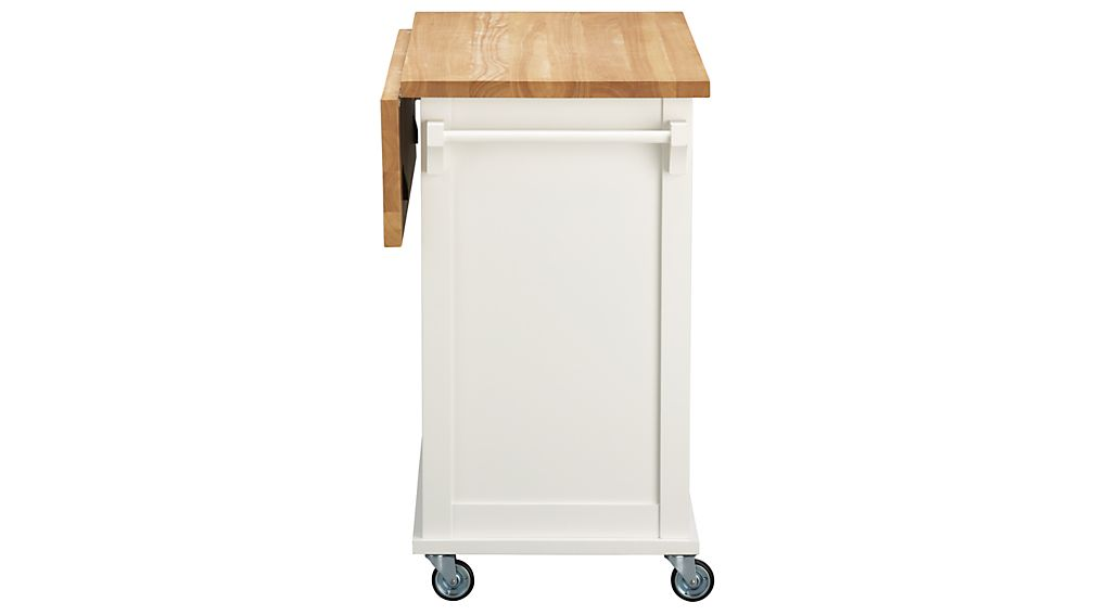 Belmont White Kitchen Island In Kitchen Islands & Carts
