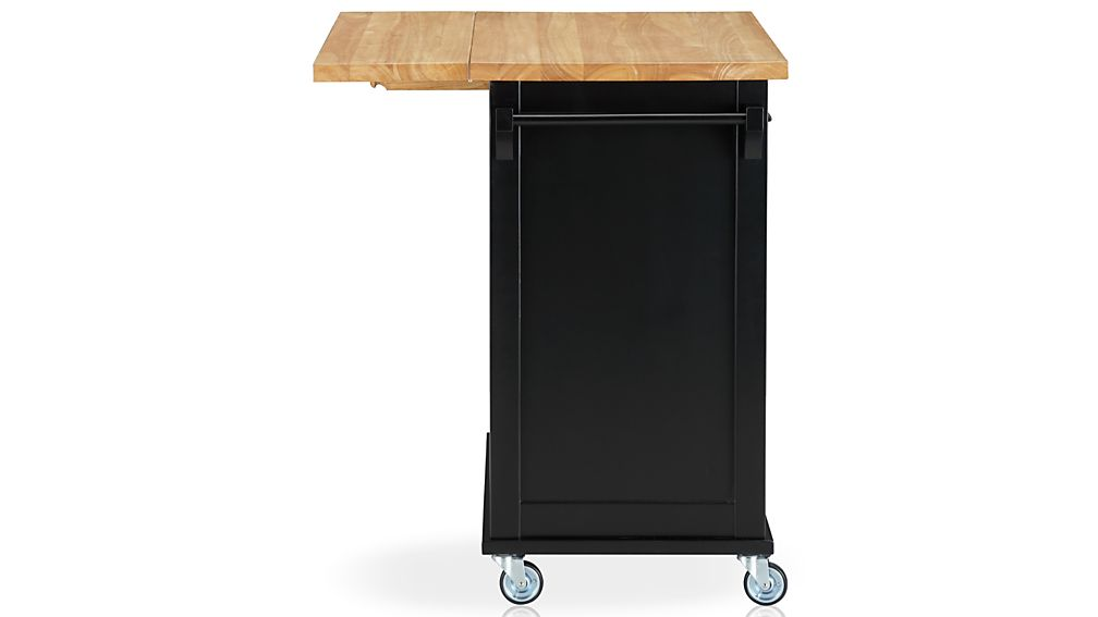 belmont black kitchen island crate and barrel belmont black kitchen island crate and barrel