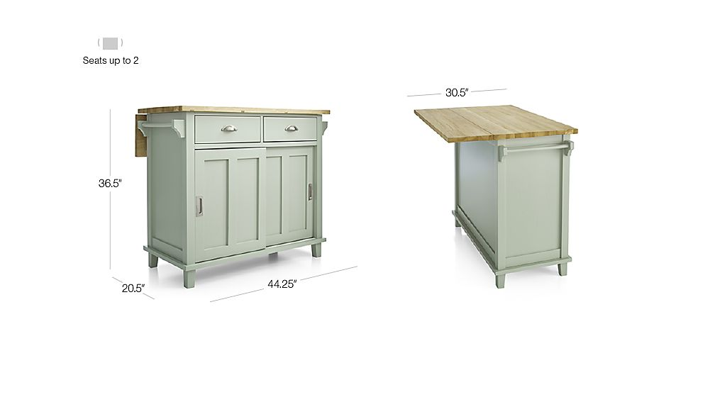 Crate And Barrel Belmont Kitchen Island