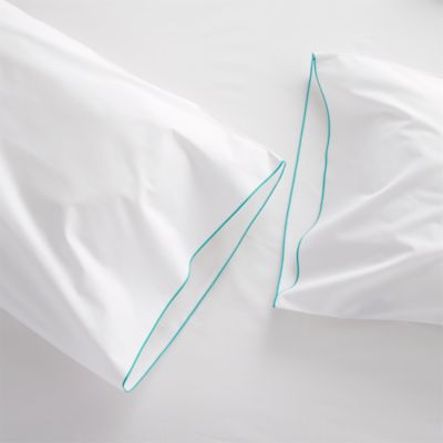 Belo Aqua King Pillowcases Set of Two