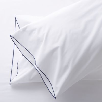 Set of 2 Belo Blue King Pillowcases